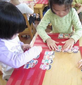 数理活动 男孩女孩排排队 -信息详细 星光幼儿园 原山东中路幼儿园