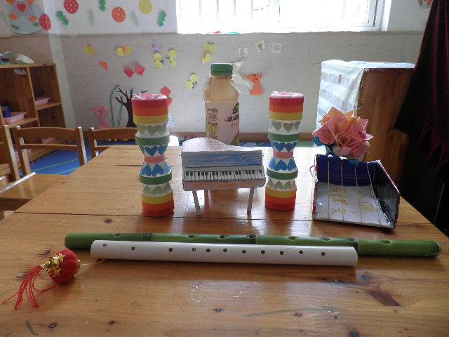 幼儿园手工制作钢琴