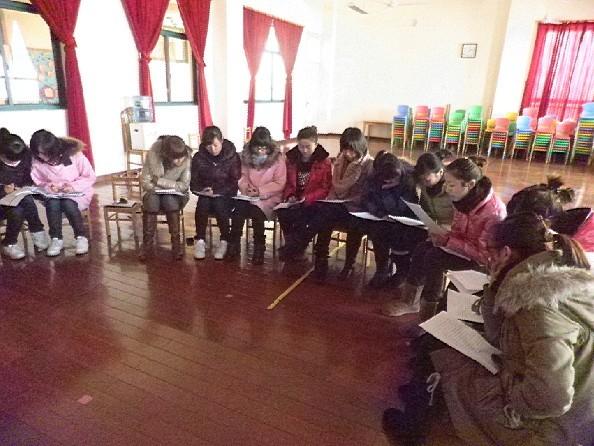 金卫幼儿园团支部进行期末工作总结20101230