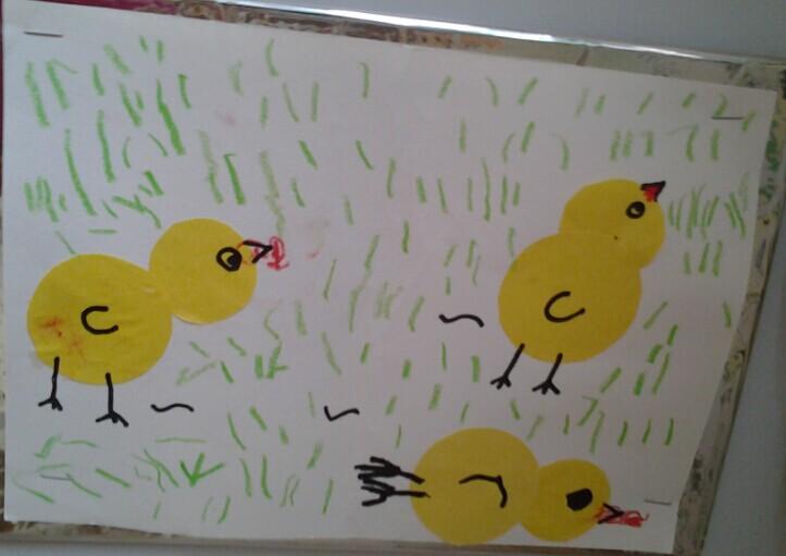 美工:可爱的小鸡