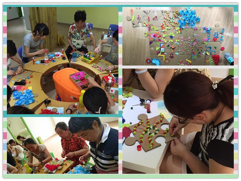 美术培训,创意无限:吴中幼儿园暑期创意美术培训活动