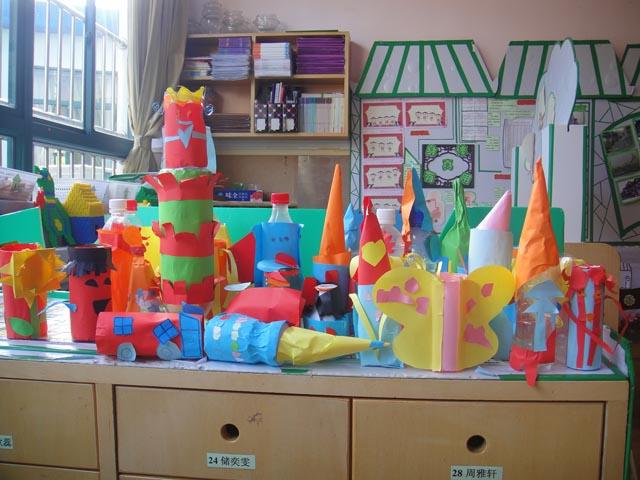 幼儿园瓶子手工制作图片大全