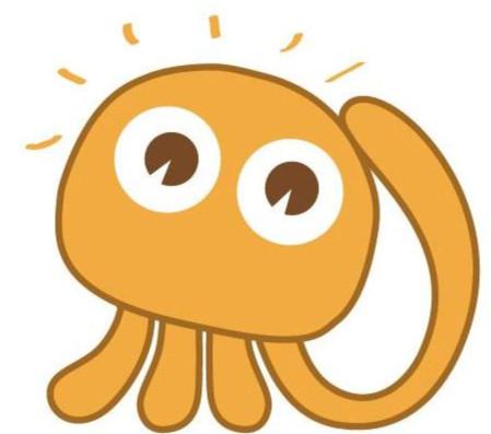 """""""小安""""是我们安庆幼儿园的新形象,ta是个调皮可爱的章"""