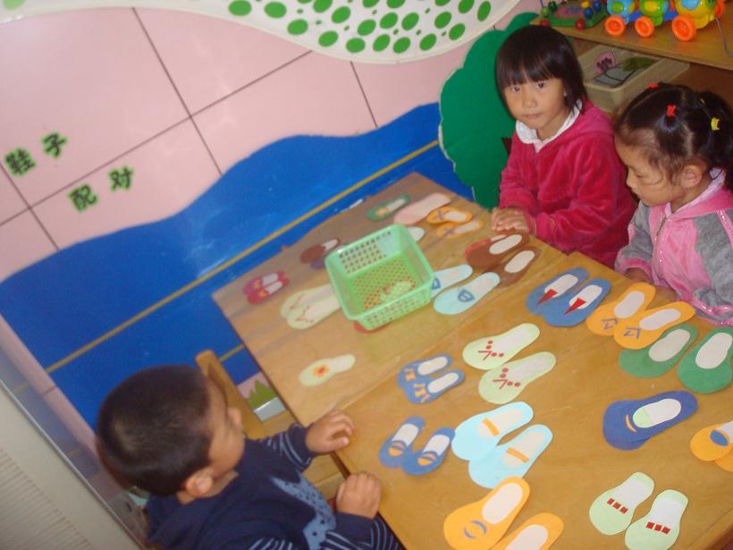幼儿园主题鞋子展板图片