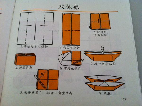 青蛙折纸关键点学会双三角形折法图片