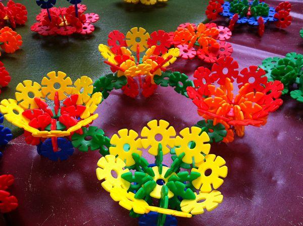 幼儿园手工制作花栅栏图片大全