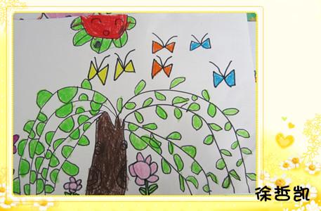 目的:1,感受春天来了,柳树发芽,抽叶的变化,热爱大自然.