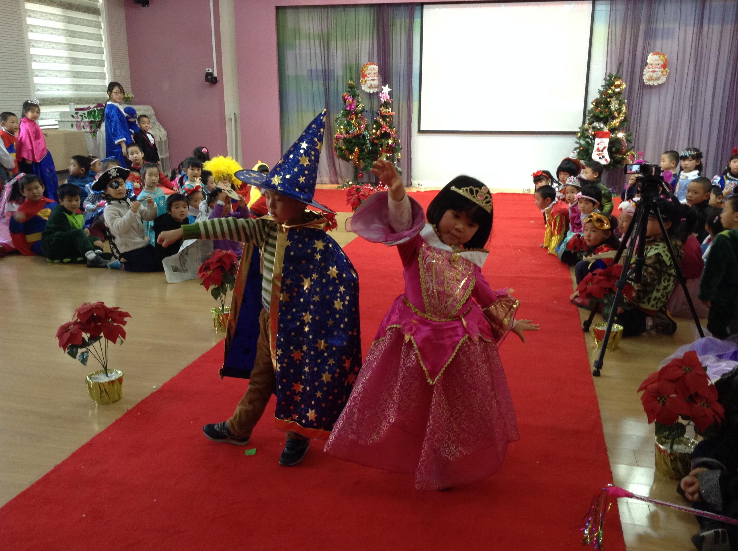 幼儿园手工制作公主演出服
