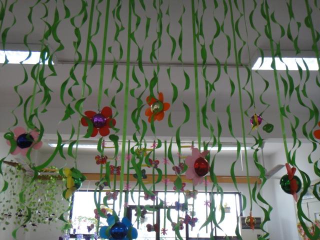 春天的花朵手工制作图片
