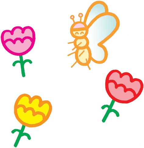 3,家长与孩子一起准备一些春天的植物,各种易于饲养的小动物(如:金鱼