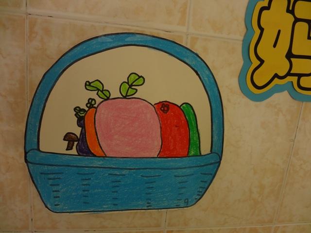 幼儿三层柜子简笔画内容图片展示