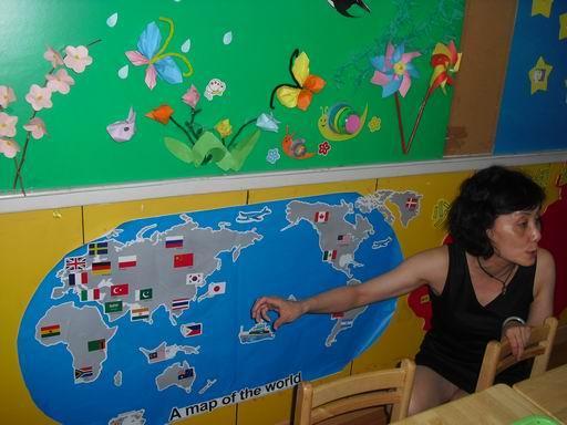 蓝天幼儿园环境创设评比活动