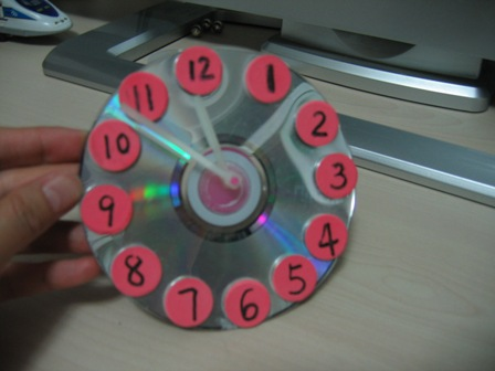 儿童手工制作闹钟步骤