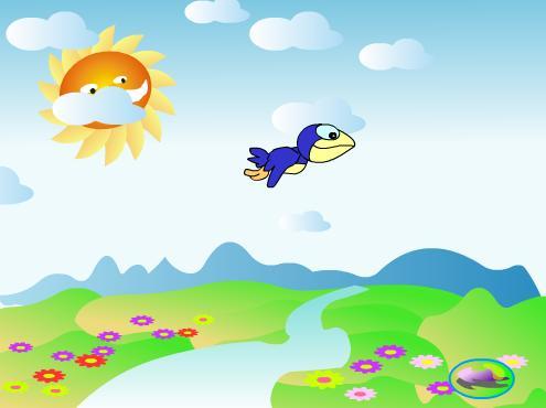 可爱的小乌鸦图