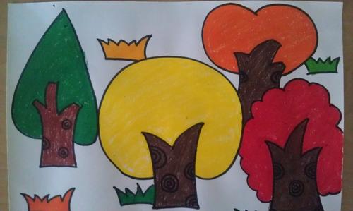 春游的小动物幼儿园春天主题画图