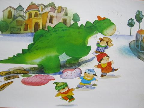 幼儿园手工制作恐龙衣服