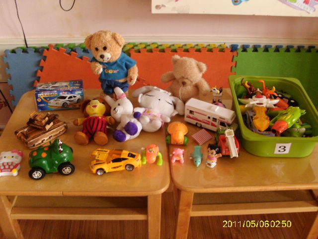 小班科学区玩具图片