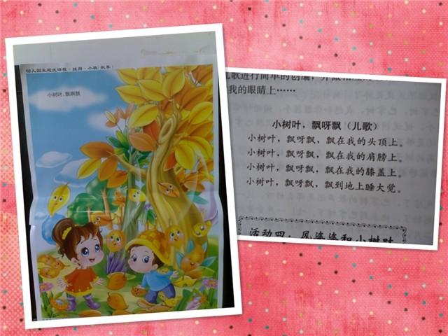 教学活动:小树叶飘呀飘(语言)