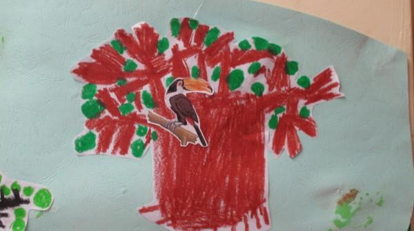 树干树枝ps素材铅笔