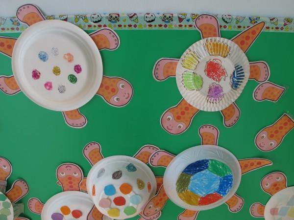 幼儿园纸碟手工制作图片