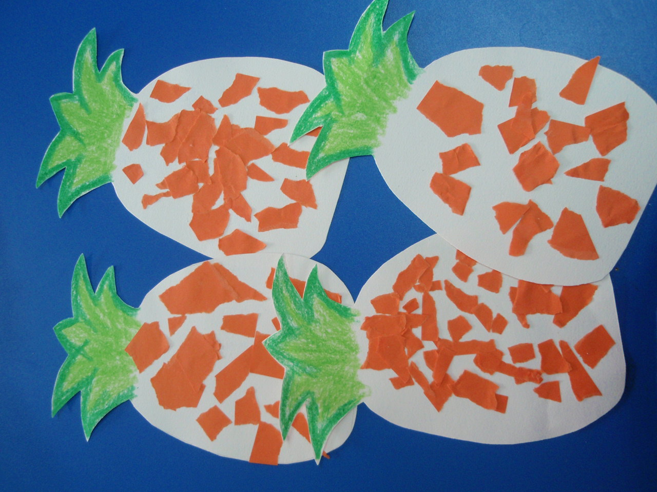 幼儿园小班手工贴画图片