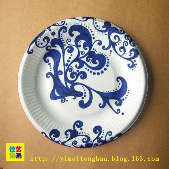纸盘子创意设计