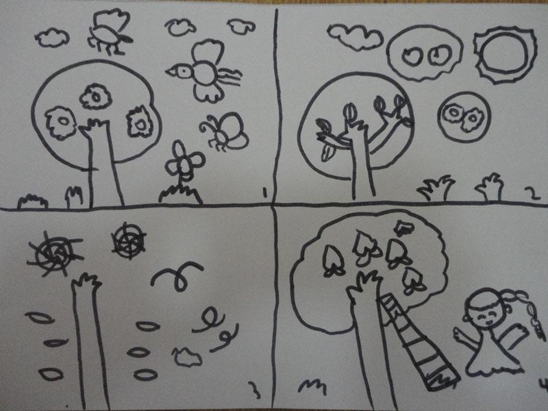 儿童画 简笔画 手绘 线稿 800_600