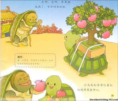 故事《小乌龟看爷爷》