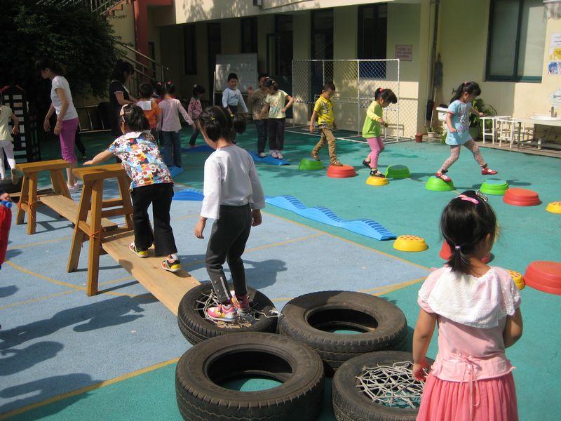 周浦镇幼儿园; 幼儿周计划表