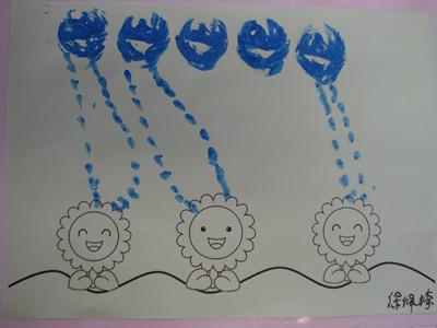 幼儿喝水简笔画