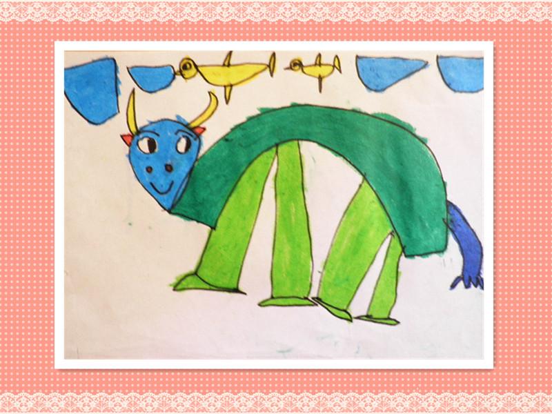 班级主页 毕业大三班2013 精彩瞬间  小动物们真可爱, 弯弯腰,像座桥