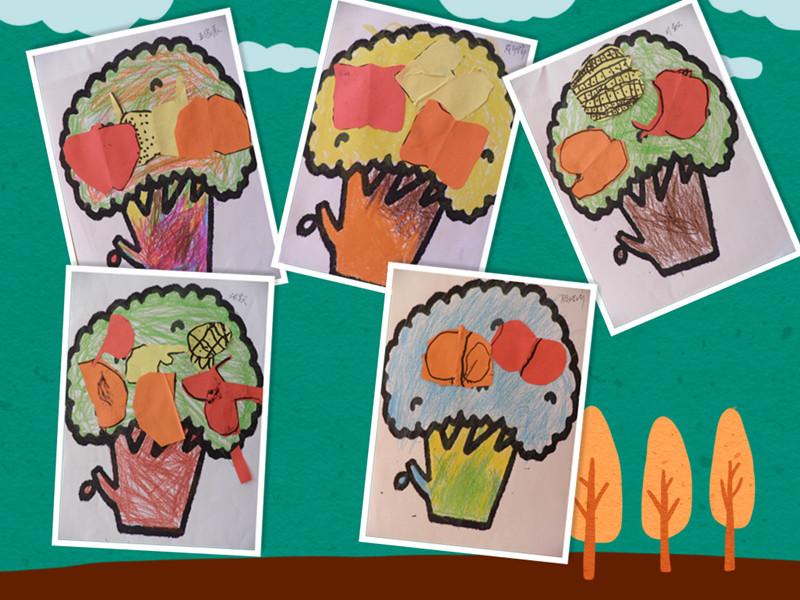 水果树线描画
