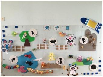 这些亲子制作的小动物,拿到幼儿园后不仅可以丰富主题墙面,还能更好地