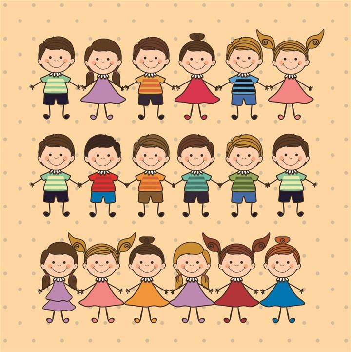 我们班级现在有28个可爱的孩子!
