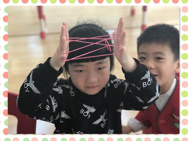 翻花绳作为广为流传的民间游戏,不但能培养孩子对民间游戏的兴趣
