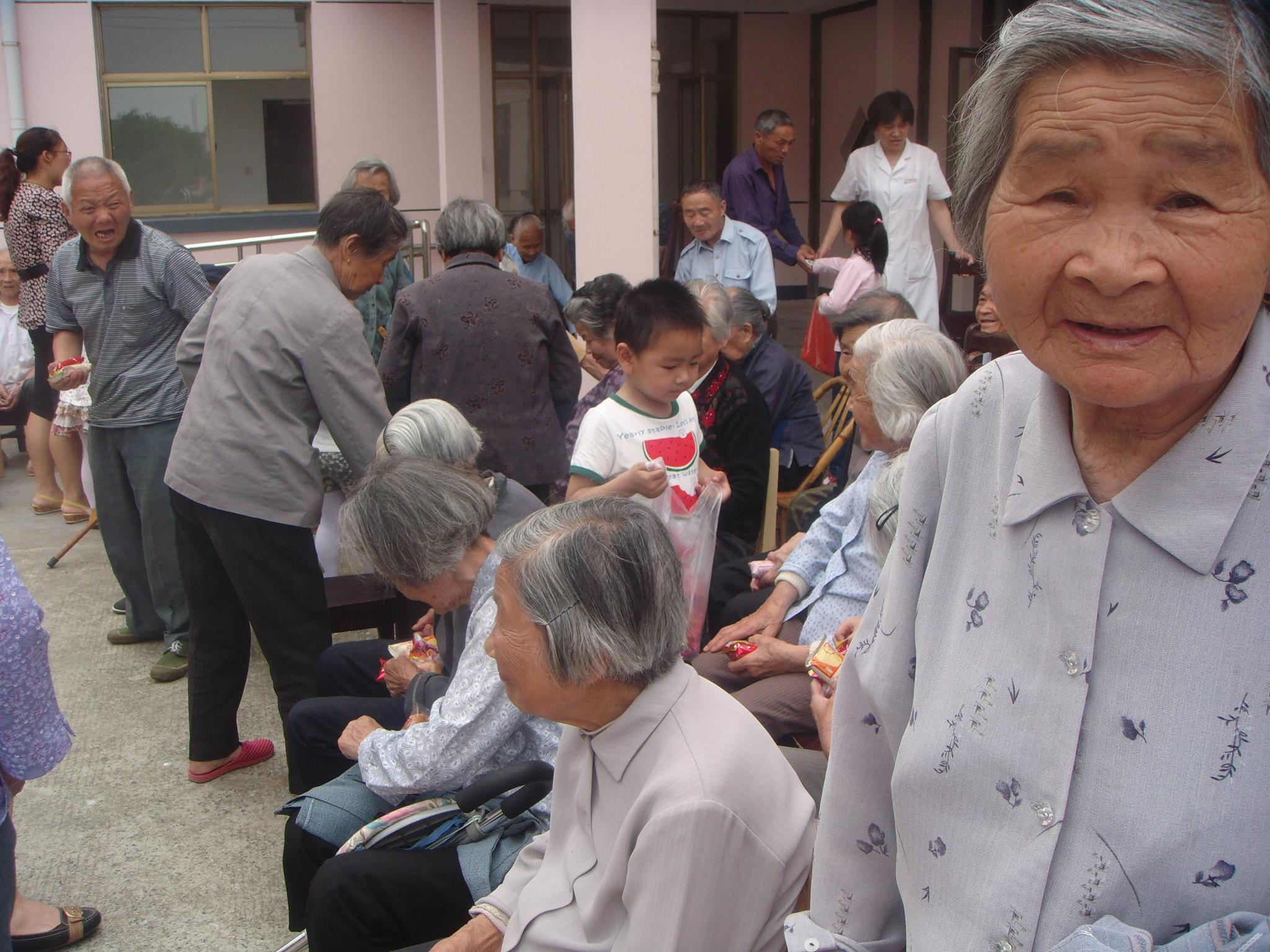 社会实践——看望敬老院老人