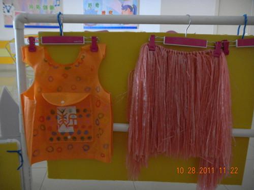 环保袋做裙子步骤图