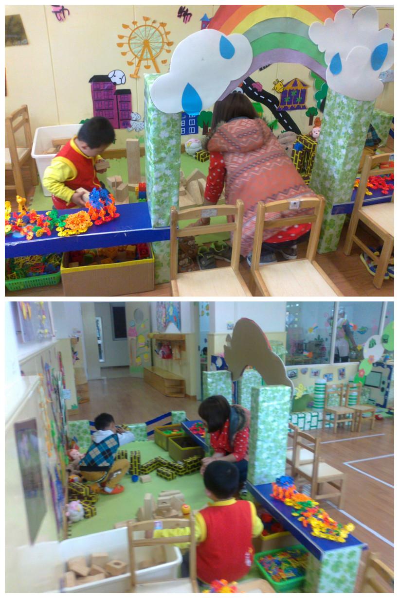 """妈妈参观我们的""""动物园&#8221"""