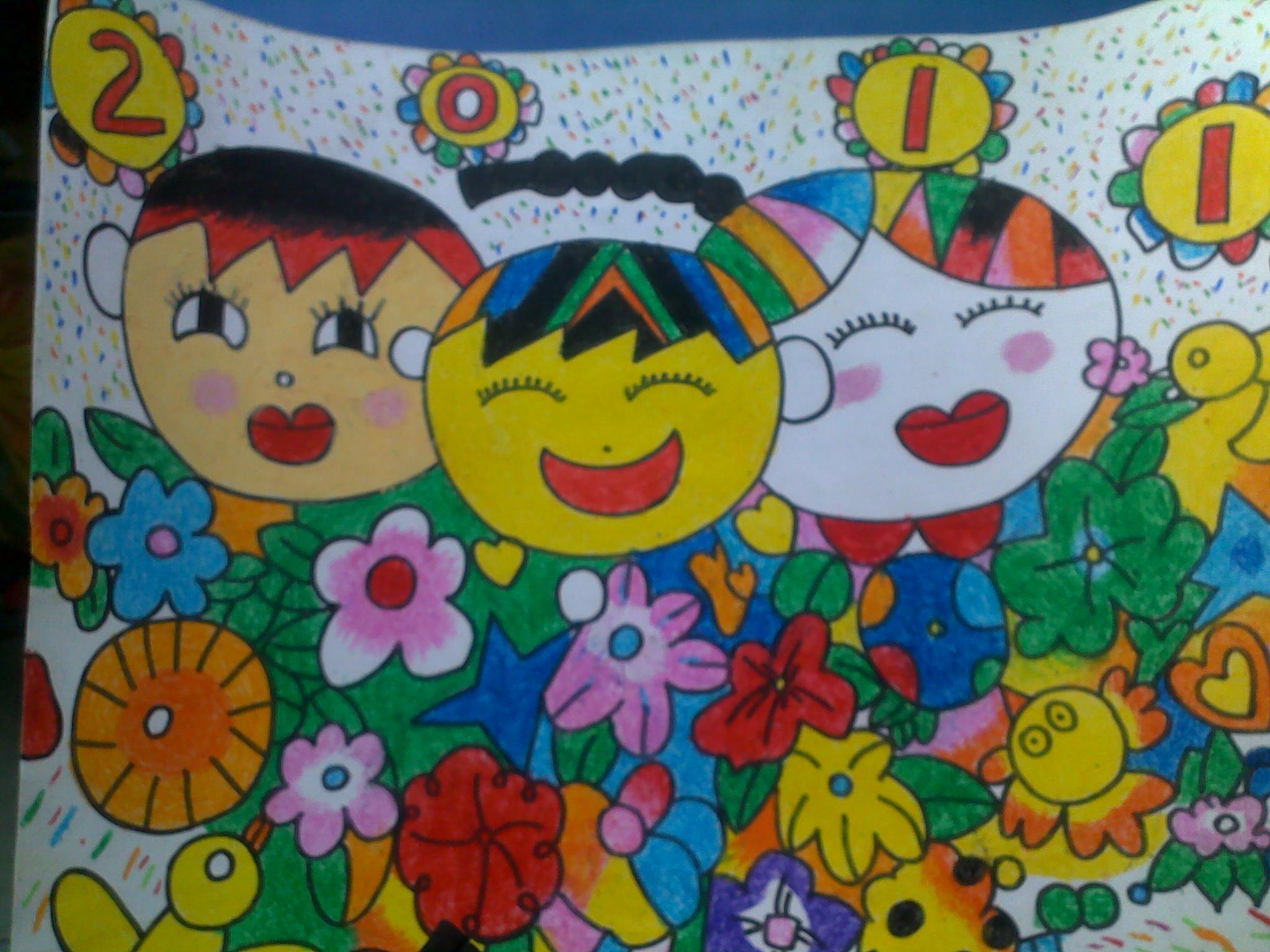 东海幼儿园绘画书法作品比赛优秀作品